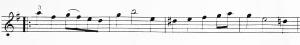 Kolme tahtia Händelin Bourreeta