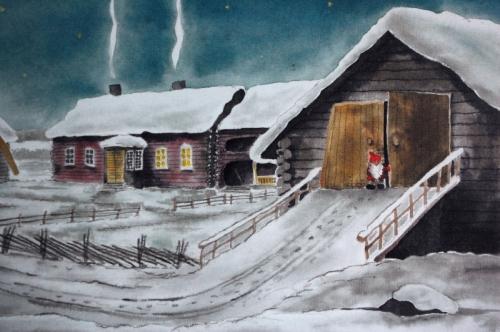 Ote Mauri Kunnaksen kirjasta The Book of Finnish Elves